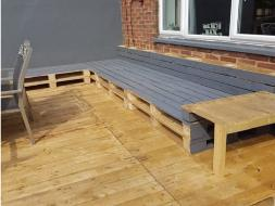 Decking Seating area 1