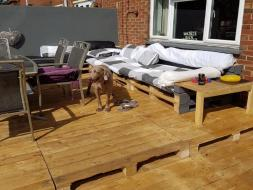 Decking Seating area 2