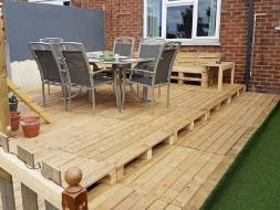Decking Seating area 3